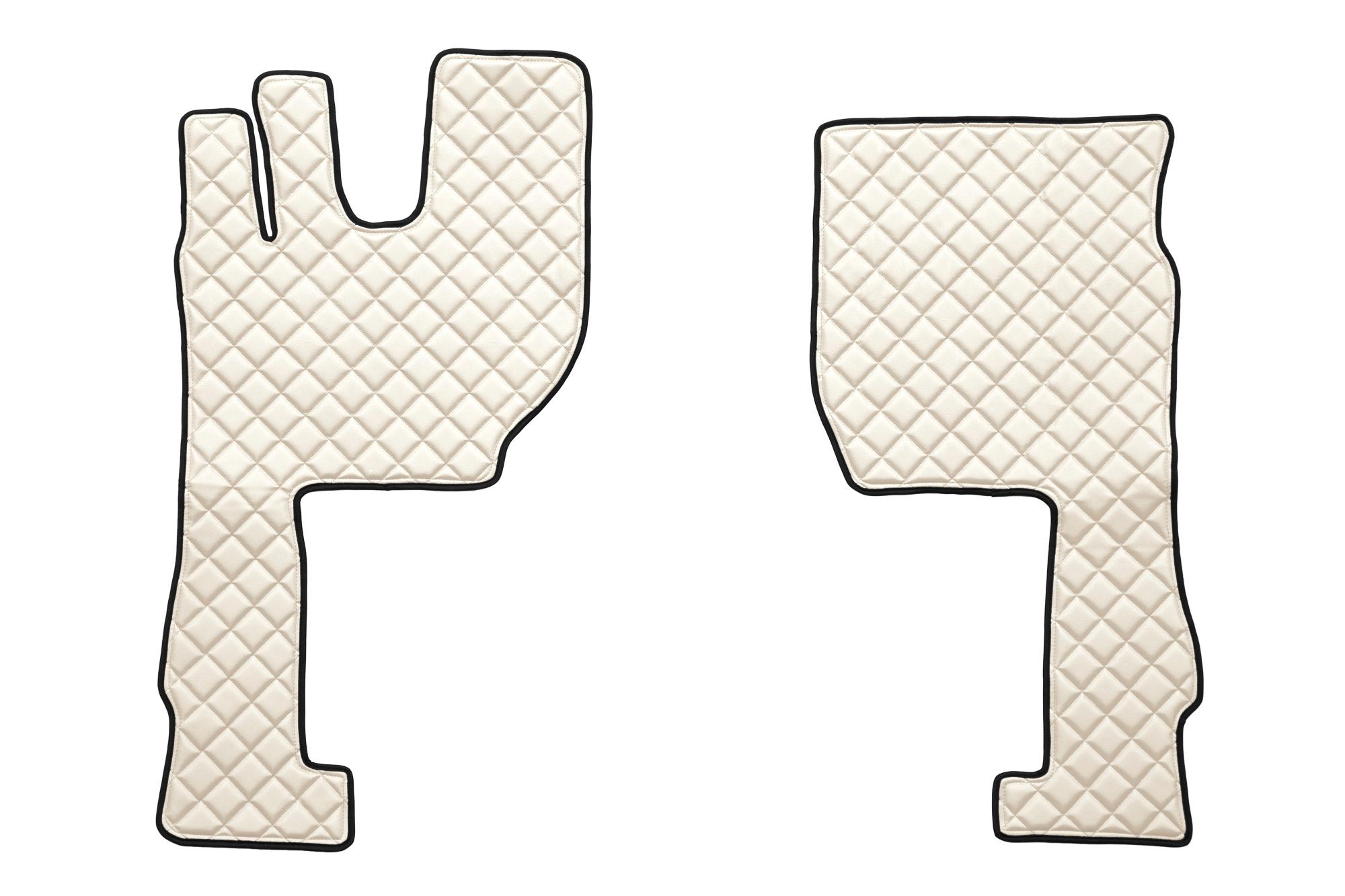fh16, tapis de sol en cuir eco-cuir, volvo fh 4 (prod. a partir